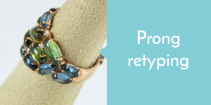 prong retyping mia of london jewelry